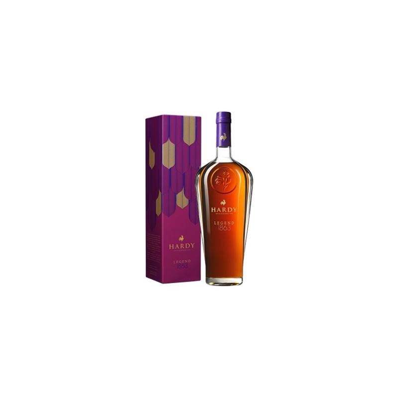 """Legend 1863 """"Le Coq"""" Cognac Hardy"""