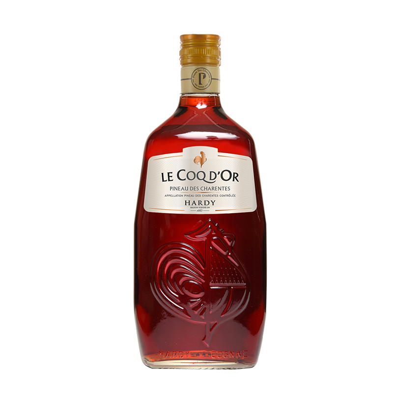 Red Pineau Cognac Hardy
